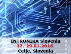 INTRONIKA Slovenia from 27th to 29th of January 2016