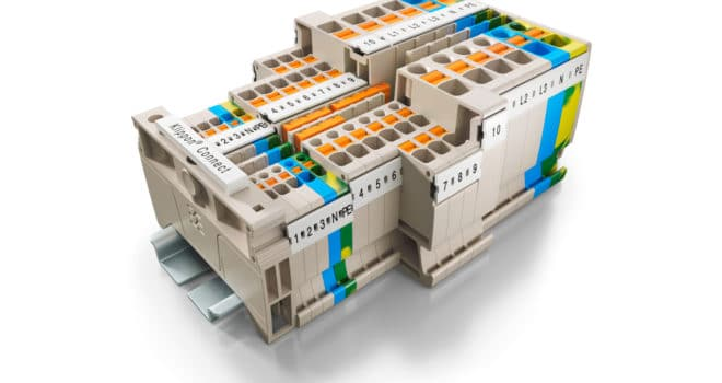 Weidmüller Klippon® Connect terminal blocks – A-Series universal range