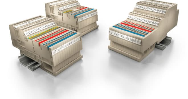 Weidmüller Klippon® Connect terminal blocks – DCS marshalling (AIO application solutions)