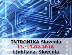 INTRONIKA Slovenia from 13th to 15th of February 2018