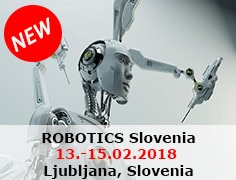 ROBOTICS Slovenia from 13th to 15th of February 2018