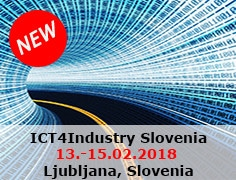 IT4Industry Slovenia from 13th to 15th of February 2018