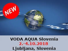 Voda Aqua Slovenia from 2nd to 4th of October 2018