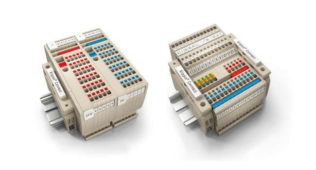 Nove distribucijske in senzorske sponke Weidmueller Klippon® Connect