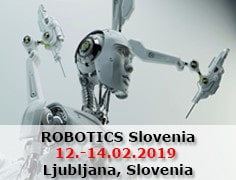 ROBOTICS Slovenia from 12th to 14th of February 2019
